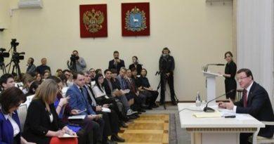 Азаров: нам удалось восстановить доверие людей к власти и вернуть область в зону экономического роста