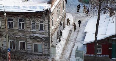 В Самаре обрушилась крыша и стена жилого дома